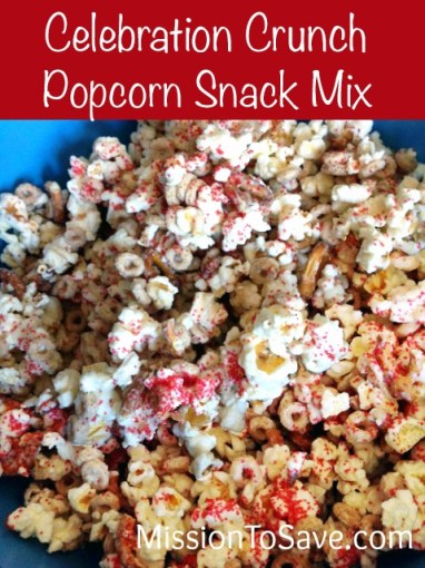 Celebration Crunch Popcorn Snack Mix