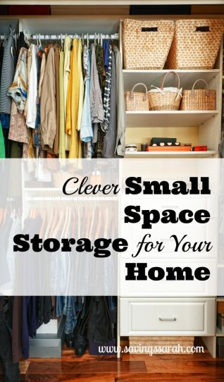 Clever Small Space Storage for Your Home