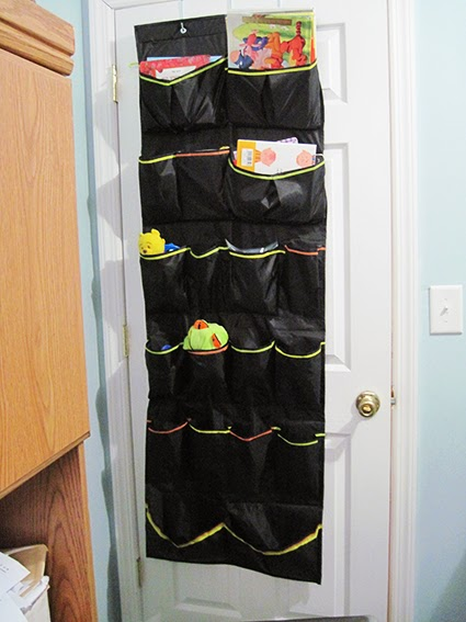 Toy and Book Storage Solution