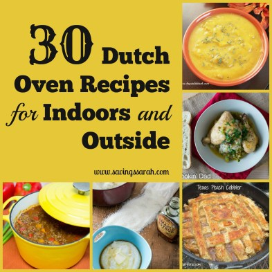 30 Dutch Oven Recipes for Indoors and Outside
