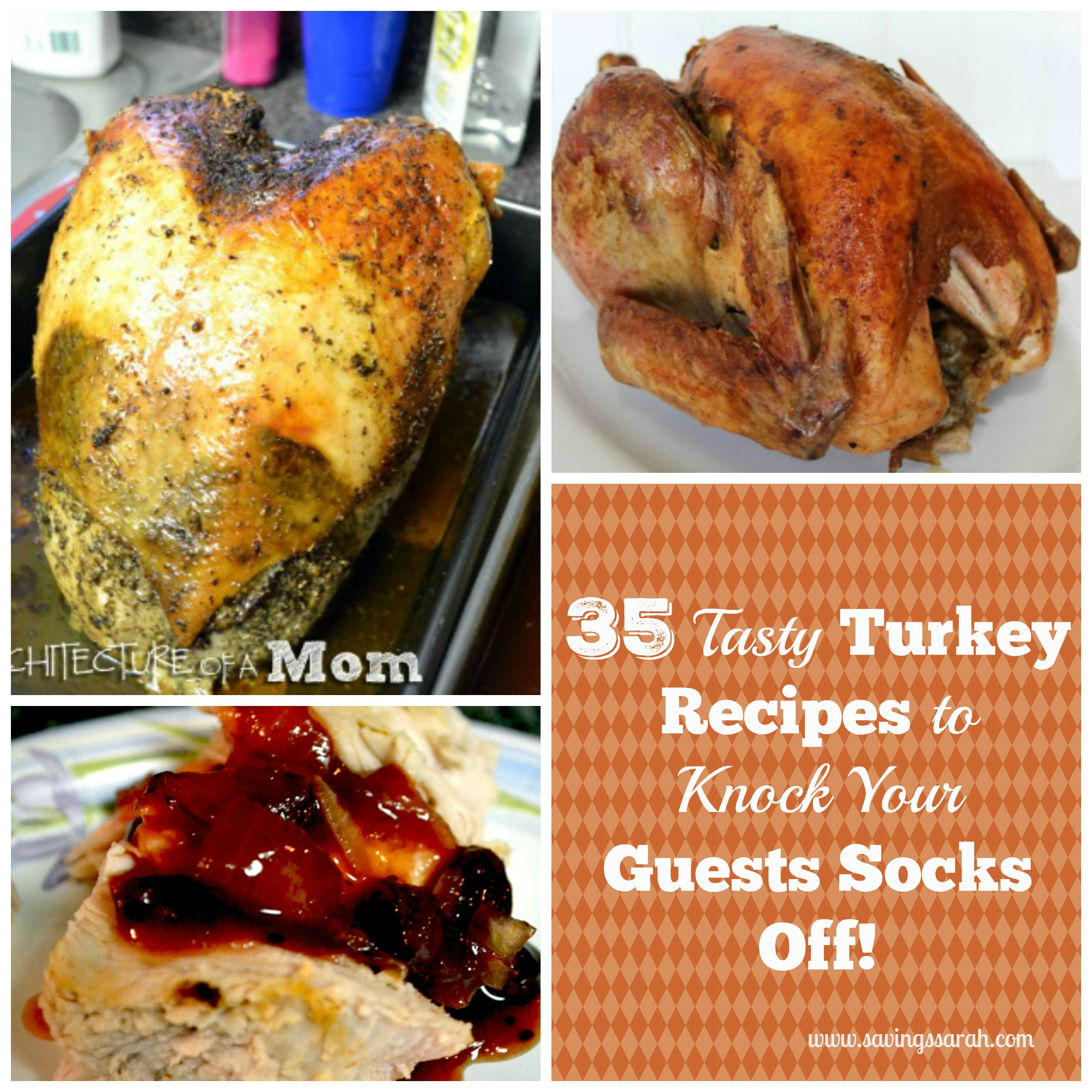 35 Tasty Turkey Recipes to Knock your Guests Socks Off