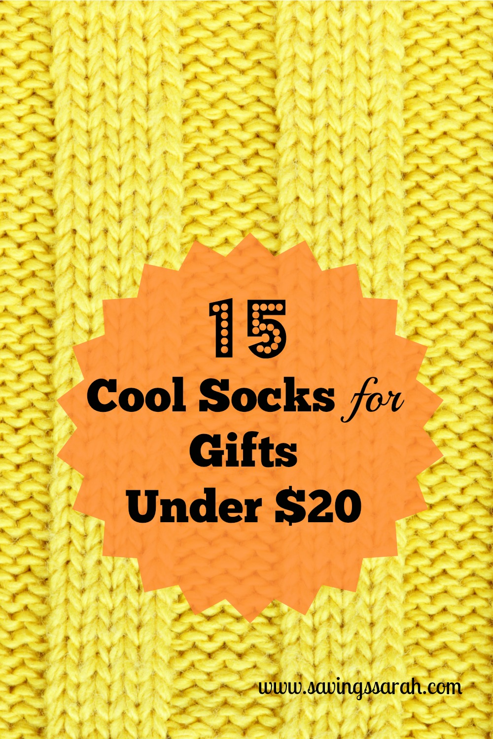 15 Cool Socks for Gifts Under $20