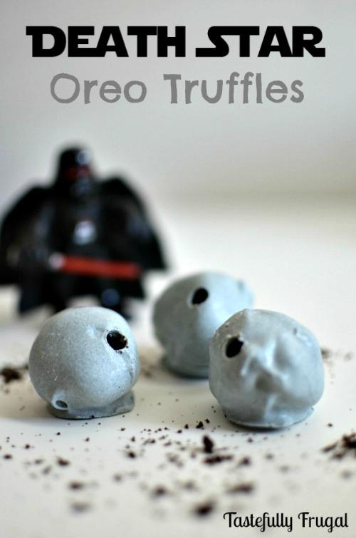 Death Star Oreo Truffles Tastefully Frugal