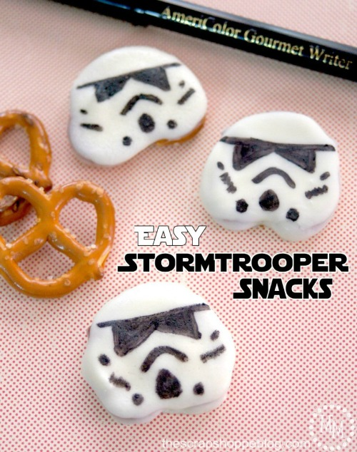 Easy Storm Trooper Snacks Star Wars