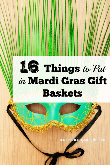 16 Things to Put in Mardi Gras Gift Baskets
