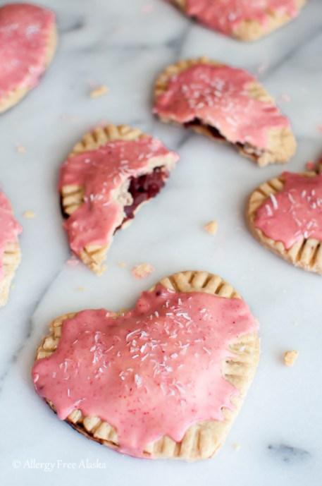 Gluten-Free Vegan Strawberry Pop Tarts