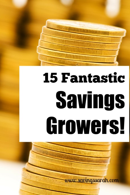 15 Fantastic Savings Growers