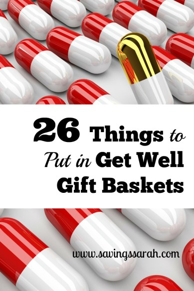26 Things to Put in Get Well Gift Baskets