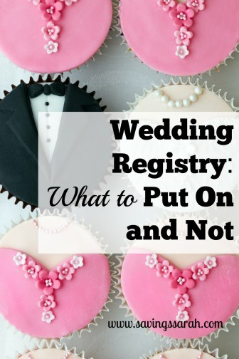 Wedding Registry: What to Put On and Not