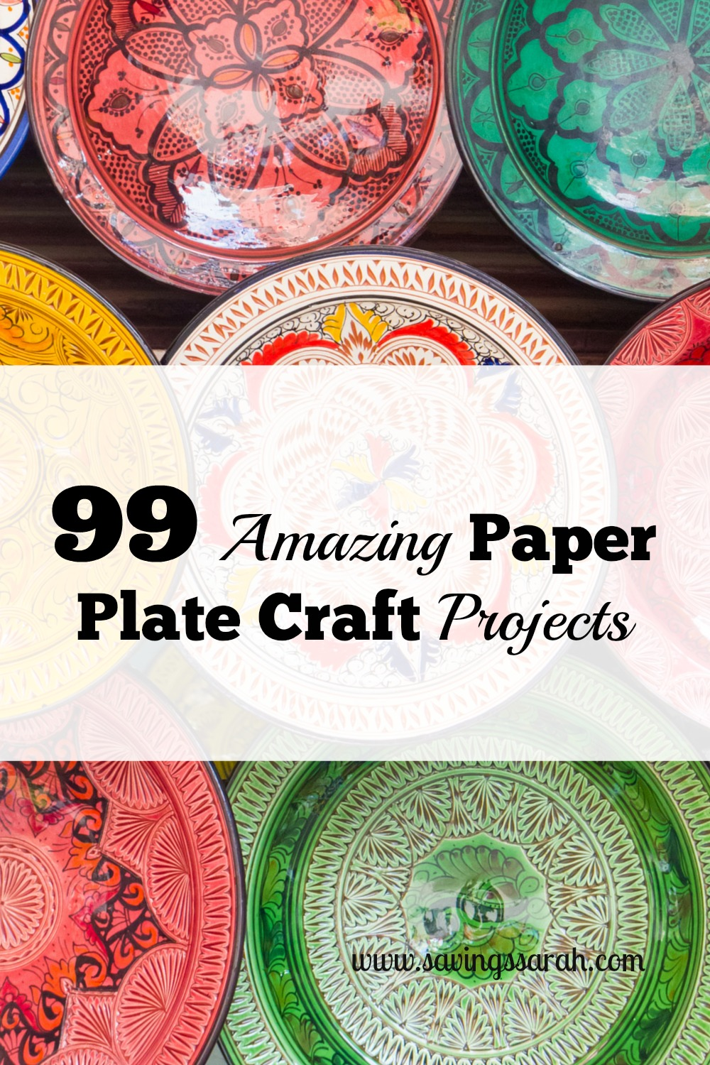 99 Amazing Paper Plate Craft Projects Earning And Saving With Sarah
