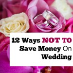 12 Ways NOT to Save on Wedding