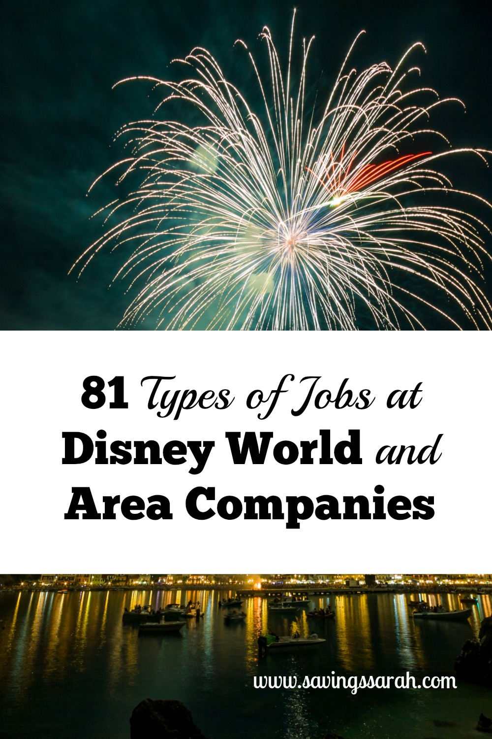 81 Types of Jobs Disney World and Area Companies - Earning