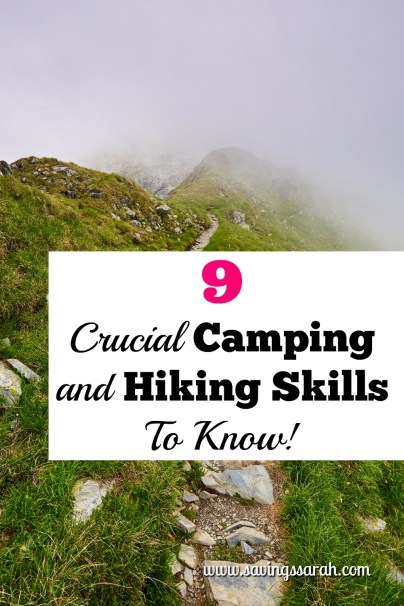 9 Essential Camping and Hiking Tips to Know