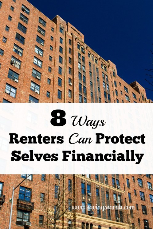 8 Ways Renters Can Protect Selves Financially