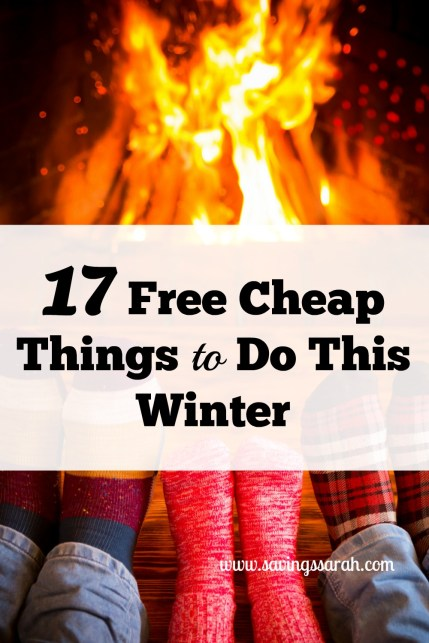 17 Free Cheap Things To Do This Winter