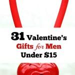 31 Valentine's Gifts For Men Under $15