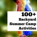 100 Plus Backyard Summer Camp Activiites