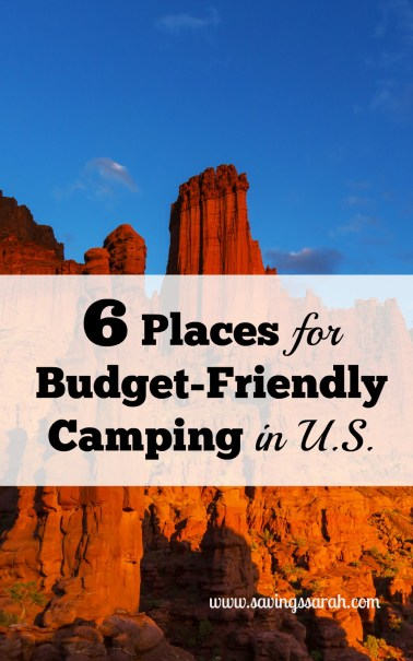 6 Great Places to Find Budget-Friendly Campsites in U.S.