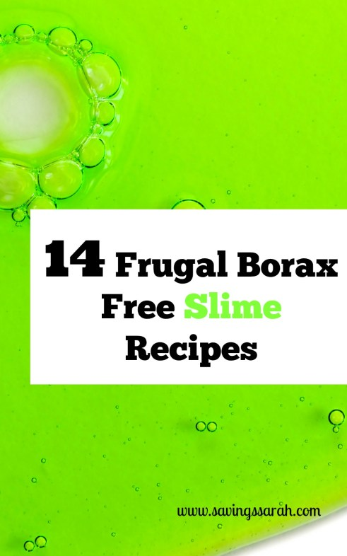 14 Frugal Borax Free Slime Recipes