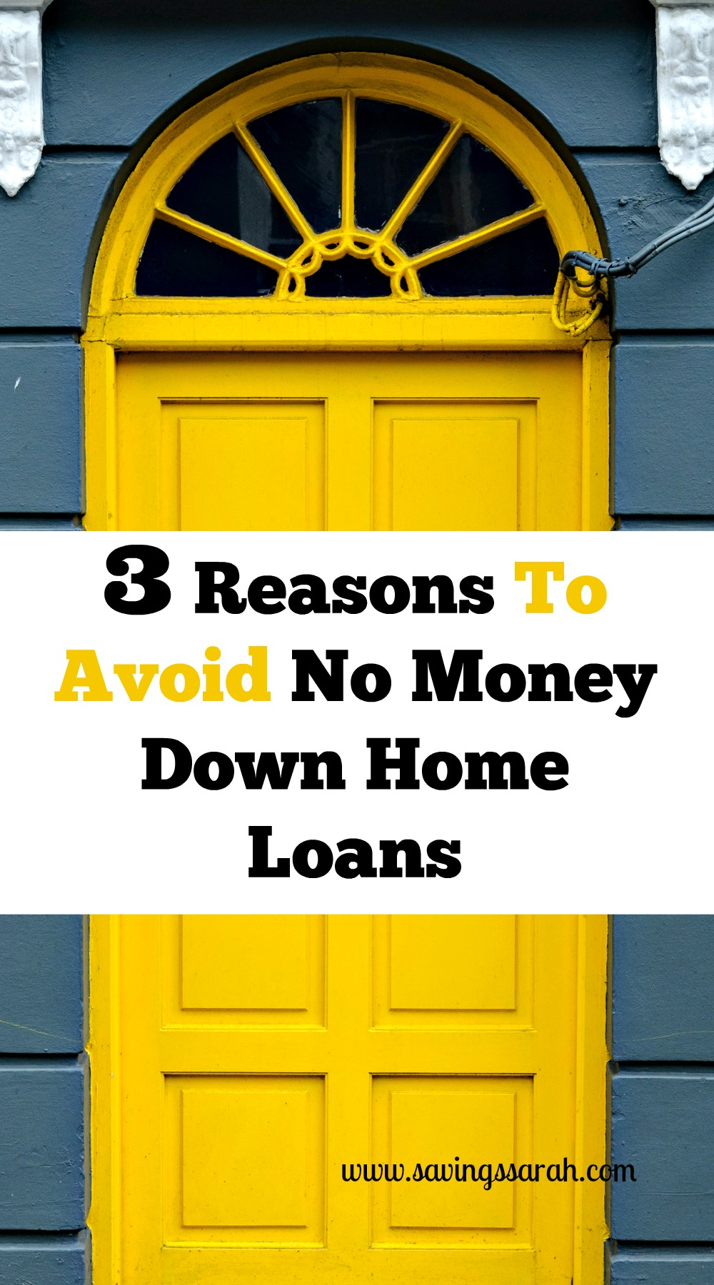 3 Reasons To Avoid No Money Down Home Loans - Earning and ...