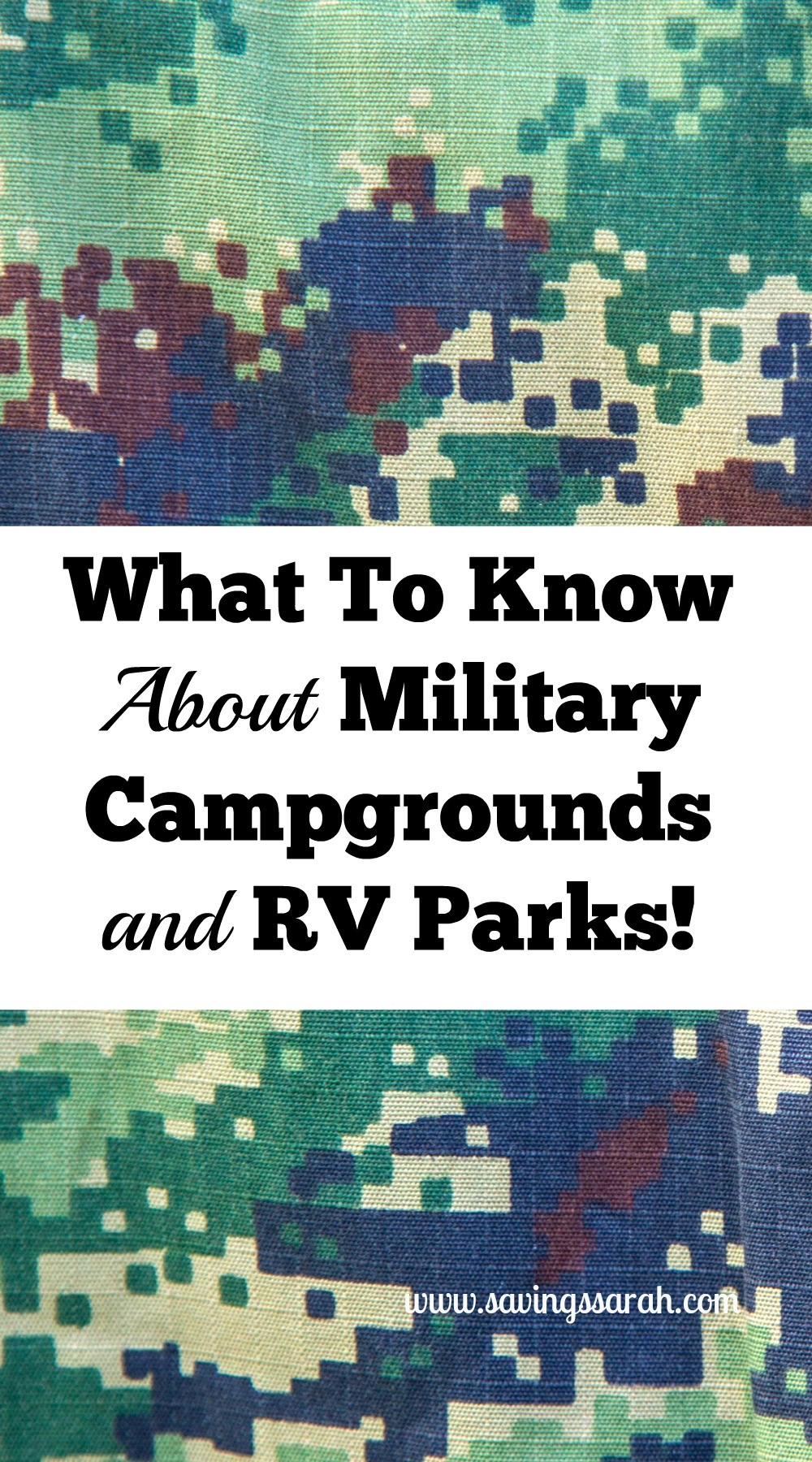 what to know about military campgrounds and rv parks