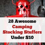 28 Awesome Camping Stocking Stuffers Under $10