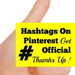 Hashtags on Pinterest Get Official Thumbs Up