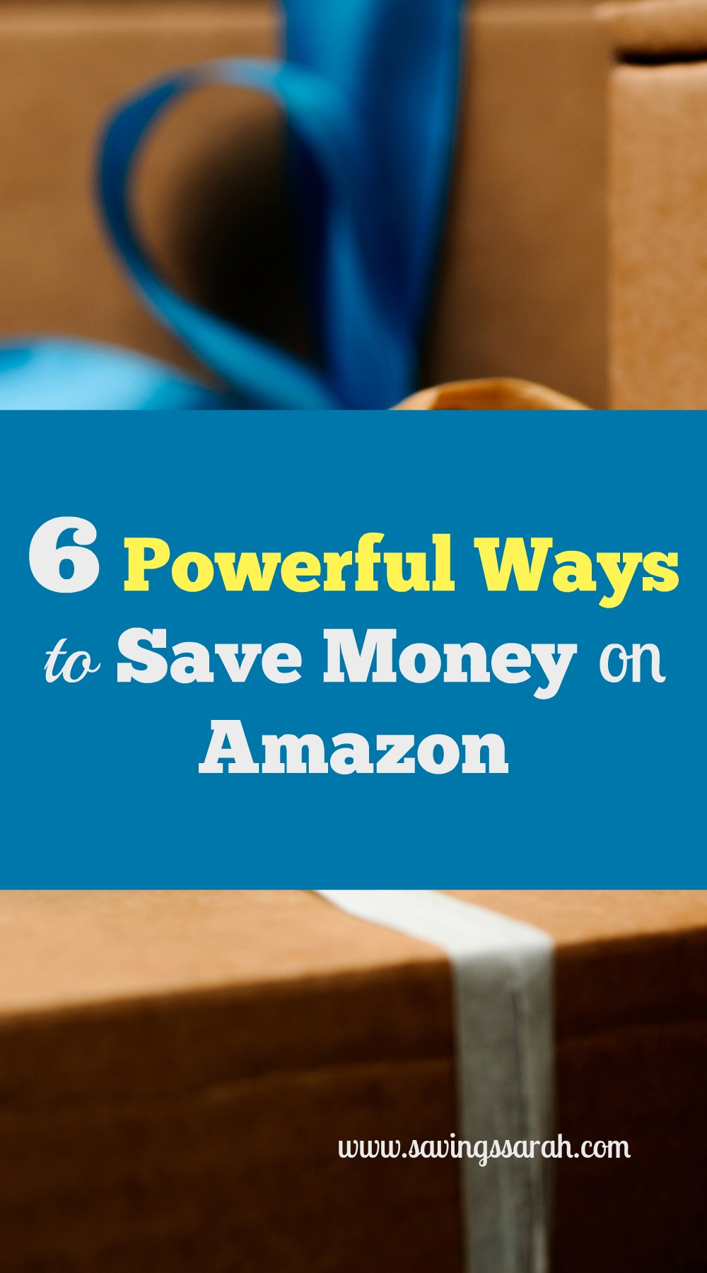 6 powerful  simple ways to save money on amazon today