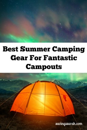 Best Summer Camping Gear For Fantastic Campouts