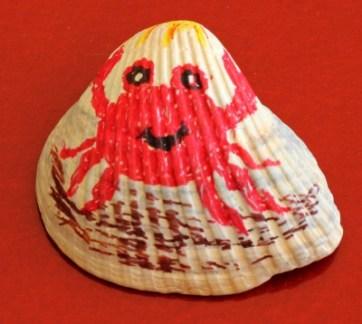 Crab Seashell