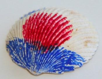 Heart Seashell Decoration