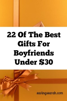 22 Best Gifts For Boyfriends Under $30