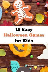 16 Easy Inexpensive Halloween Games For Kids