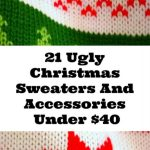21 Cool Ugly Christmas Sweaters And Accessories Under $40
