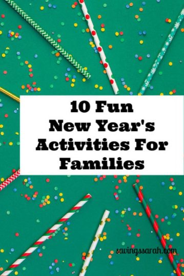 10 Fantastic New Year's Activities For Families