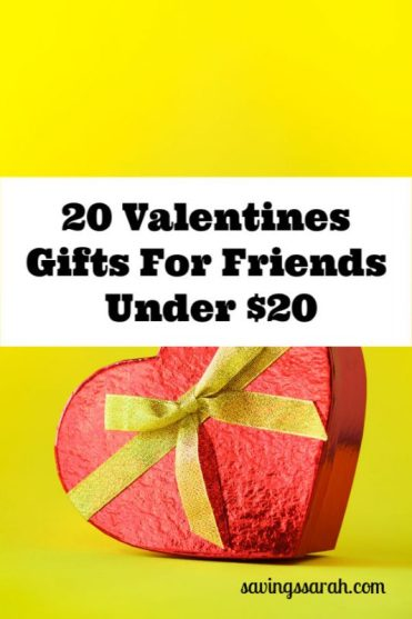 20 Valentines Gifts for Friends Under $20