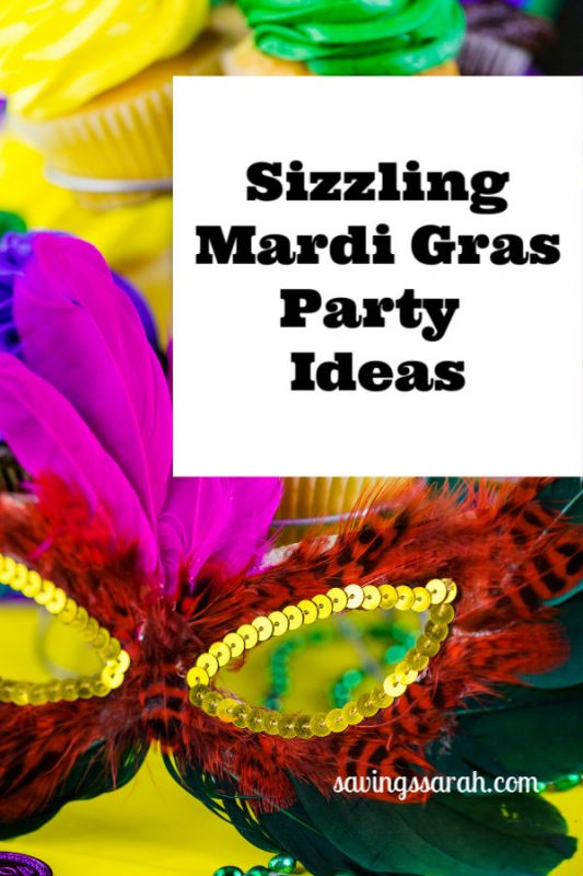 Sizzling Mardi Gras Party Ideas Earning And Saving With Sarah