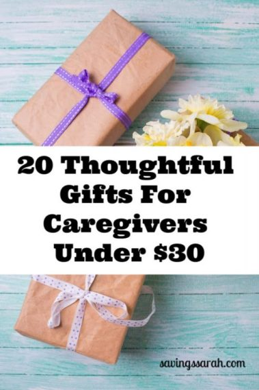 20 Thoughtful Caregiver Gifts Under $30
