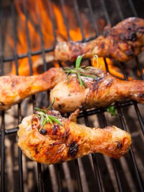 4th of July Food Ideas Grilled BBQ Chicken Bar