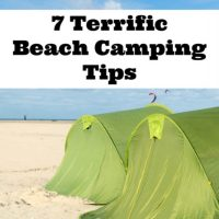 7 Terrific Beach Camping Tips