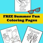 Fun Summer Coloring Pages
