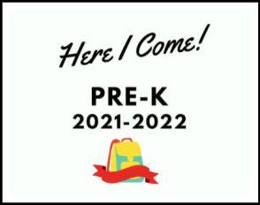 Pre-K 2021 Sign