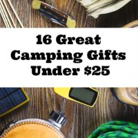 16 Wonderful Camping Gifts Under $25