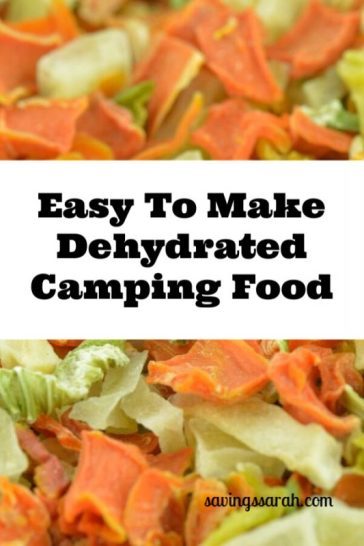 Easy To Make Dehydrated Camping Food