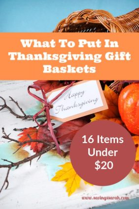 16 Items Under $20 To Put In Thanksgiving Gift Baskets