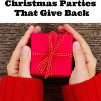 Awesome Christmas Parties That Give Back