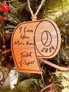 Coronavirus Toilet Paper Ornament