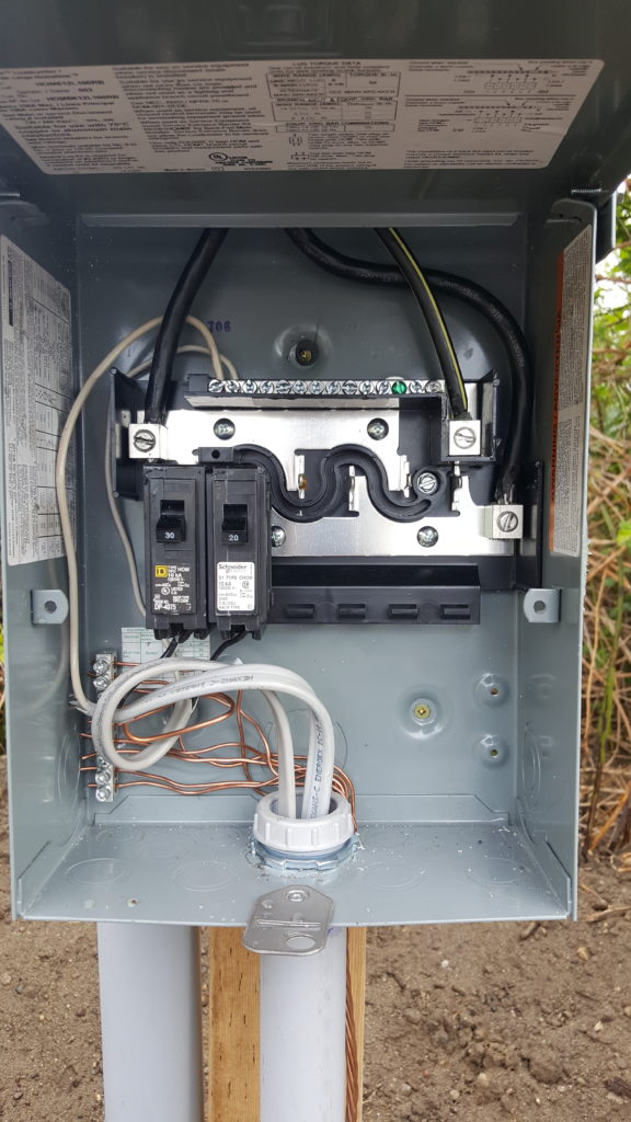 Step 3b – Wiring and Inspection – Saving Sustainably