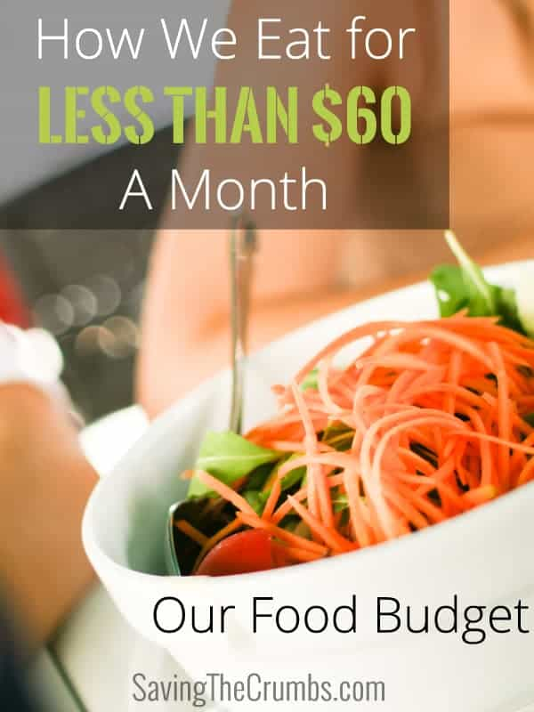 How We Eat for Less Than $60 a Month: A Peek into Our Food Budget