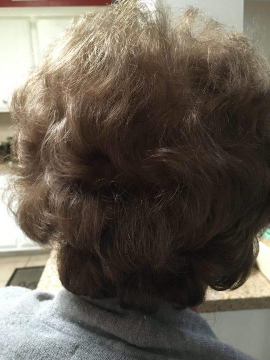 layered haircut DIY